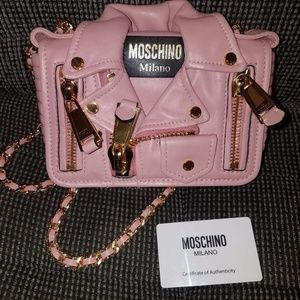 Moschino Milano jacket purse